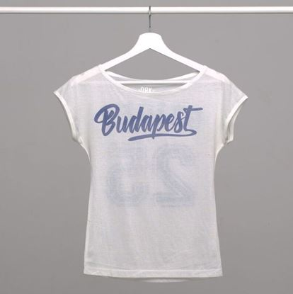 Picture of SZIGET // Lady Baseball t-shirt