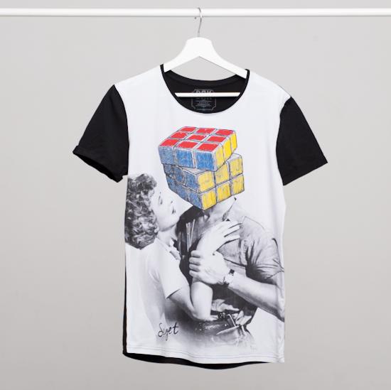 Picture of SZIGET // Men Rubik t-shirt