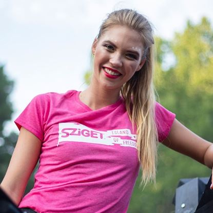 Picture of SZIGET // Lady Flag t-shirt