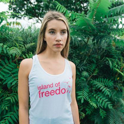 SZIGET // Női Island of Freedom Trikó termékhez kapcsolódó kép
