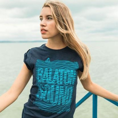 Picture of Lady Waves t-shirt - Balaton Sound (2017) (blue)