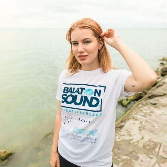 Picture of BALATON SOUND // Lady Image T-shirt