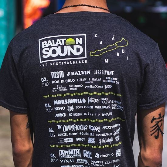 Picture of BALATON SOUND // Men Festival t-shirt
