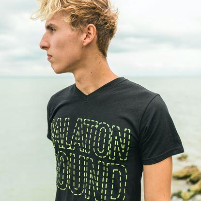 BALATON SOUND // Férfi Szaggatott Póló termékhez kapcsolódó kép