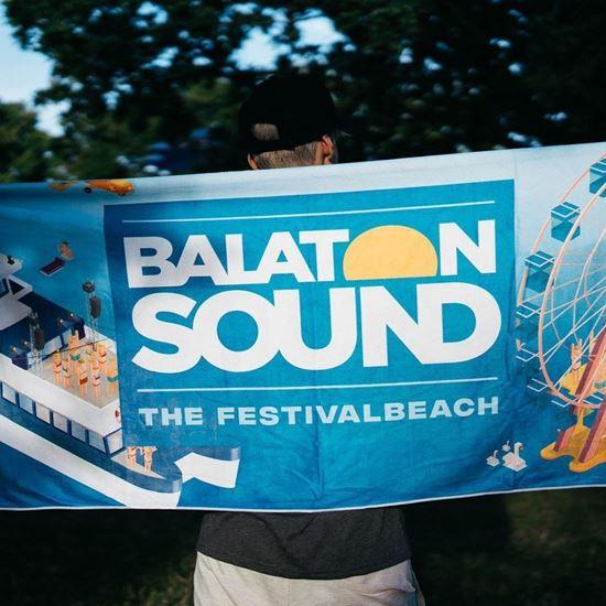 Picture of BALATON SOUND // Beach towel