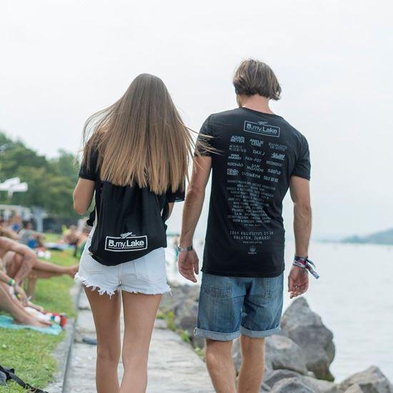 B my Lake //  Unisex Fesztivál póló termékhez kapcsolódó kép