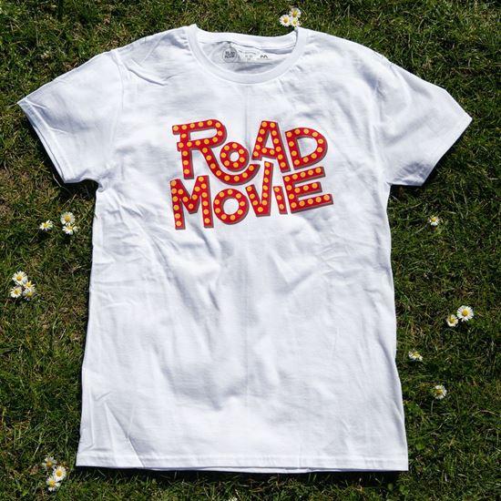 ROAD MOVIE // Unisex póló termékhez kapcsolódó kép